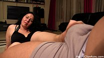 Alisa stepmom handjob video