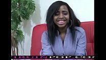 ebony teen first time on camera