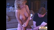 What a busty mature cowgirl