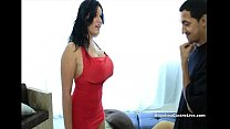 Big Titted Cuban Angelina Castro Rewards a Help...