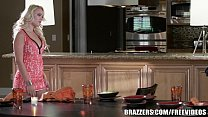 alexis monroe gets fucked in the kitchen