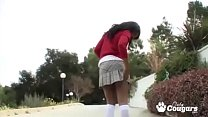 School Girl Services Her Teacher Big Cock For A...