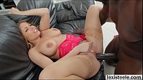 Shapely blonde Brittney gets ass rammed by a bl... Thumbnail