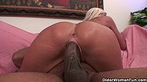 Soccer milf gets trashed by thick black cock - download porn videos