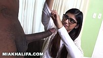 MIA KHALIFA - Rico Strong Gives Mia Her Very First Big Black Cock - download porn videos