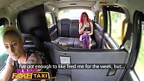 Female Fake Taxi Hot redhead hitchhiker gets th...