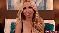 Nikki Benz Gives Sloppy Birthday Blowjob For Fa...