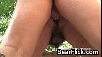 Gay bears fucking in the mountain cabin gay video