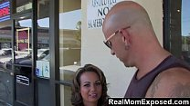 realmomexposed   milf gets picked up and fucked hard