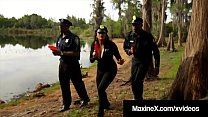 Cambodian Cop Maxine X Fucked By 7 Big Black Zombie Cocks! Thumbnail