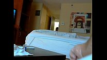 flash maid hotel by jerking Caught