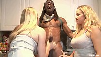 Two Hungry Blondes Share Black Stud& 039 S Tool...