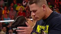 John Cena and AJ Lee Kiss - WWE Raw 11 19 12 Thumbnail