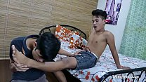 Twinks Russel and Andrew Foot Fetish Fuck
