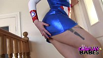 COSPLAY BABES Miss America masturbating - download porn videos