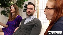 Jay and Penny fuck the new French exchange stud... Thumbnail