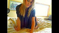 Sweater Girl Gets Naked On Her Bed And Shows Off That Great Ass ( More at - girls-cams.top )