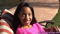 Ebony step teen creamed