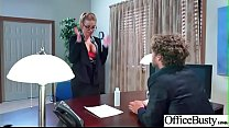 Hardcore Sex In Office With Huge Boobs Girl (Br... Thumbnail