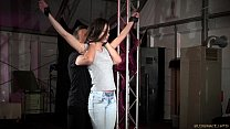 Hot Russian Arwen Gold sex object restrained an...