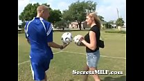 Download video bokep Hot Soccer Mom Learns To Play With The Coach's ... 3gp terbaru