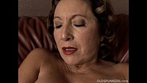Gorgeous gra nny with nice big tits fucks her juicy pussy for you