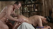 Massage Rooms Sexy Russian Milf has multiple or...