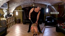 Slave tested, receives caning to the butt as pu... Thumbnail