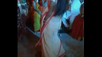 Mou Sexy Dance on Cousin's Wedding. Village She...