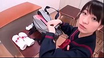 Japanese Schoolgirl Sucking on Man's Nipples - ...