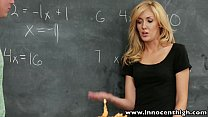 igh sexy blonde schoolgirl banged in the classroom