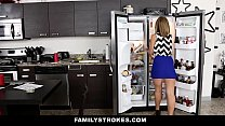 familystrokes   cute blonde fucked by step brother