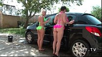 outdoor couple younger other an analyzing couple french old Amateur