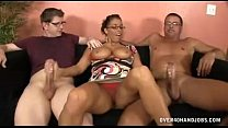Download video bokep Busty Milf Meets Step son For The First Time 3gp terbaru