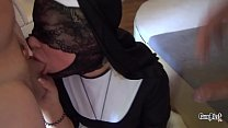 Naughty Prayer swallows a lot of cum Sin with me Thumbnail