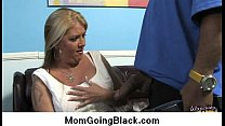 Hot MILF getting fucked by black monster 18