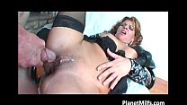this naughty old slut is to horny