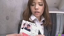 sexy Japanese girl get fuck after work