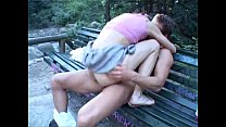 hot girl gets fucked in the park