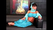 Lisa Ann Busty Genie Rides Captain's Hard Dick