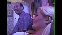 18J-Blond-Daddy read Story-becomes real - BJ-Fu...