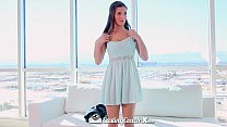 HD CastingCouch-X - Molly Jane gets her big tit... thumb