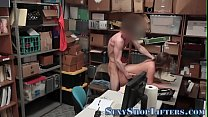 Shoplifting teen creamed Thumbnail