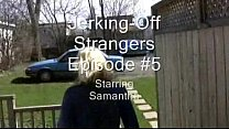 jerky girls   jerking off strangers episode 5   samantha