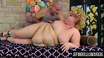 Passionate Geezer Gives Fat Teen Velma Voodoo a...