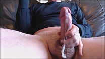 My solo 63 (Quick Fuck and cum on couch with my fleshlight)