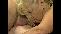 action foursome in fucked get granny Two
