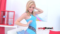 Baby Dream petite blonde (boy/girl anal video) SZ597