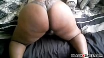 Black BBW clappin her booty