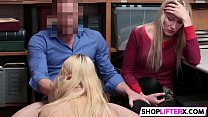 Sexy Shoplifting Mom And Daughter Get Punished